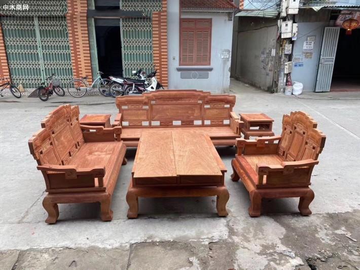 缅甸花梨沙发厂家直销