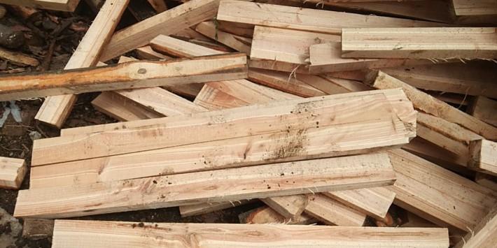 松木托盘料,建筑木方厂家直销图片