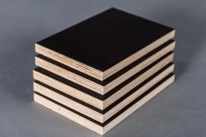 俄罗斯进口全桦木多层板,全桦木建筑覆膜板应用展示
