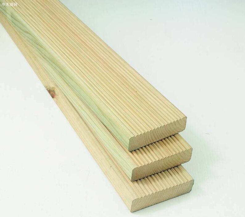 樟子松防腐木板材今日最新报价图片
