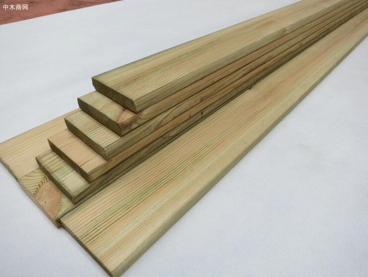 樟子松防腐木板材今日最新报价价格