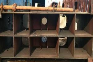 二手嘉善康达产15层木工热压压板机转让