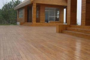 防腐木地板优缺点有哪些及保养步骤?