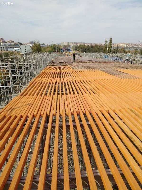 俄罗斯进口全桦木多层板LVL工程方木应用展示图片