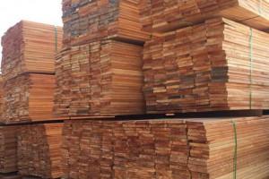 上海福人林产品批发市场柚木,白木地板坯料等价格行情_2020年9月22日