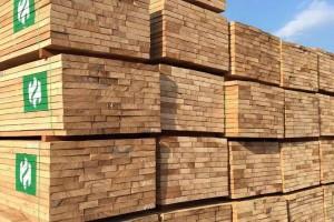 英国和欧盟进口马来西亚硬木木材远低于往年同期水平