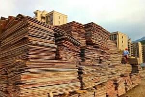 福建工地建筑木柴出售与回收