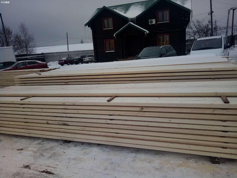 原产地直销俄罗斯樟子松,落叶松原木板材厂家