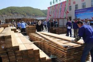绥芬河市自贸区举行木材加工行业技能大赛