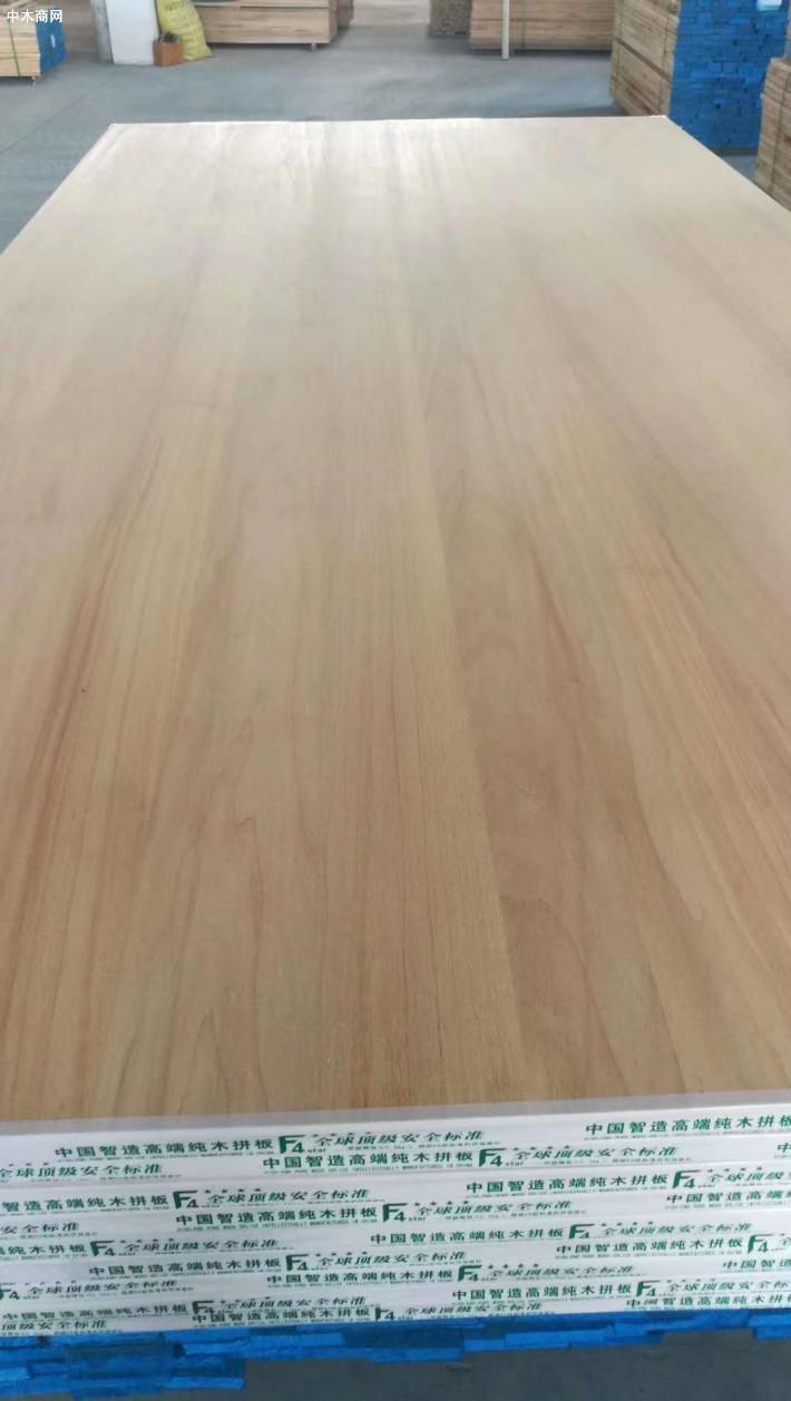 山东炭化杨木直拼板生产厂家批发价格采购