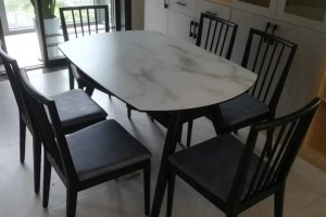 库斯家具餐桌高清图片