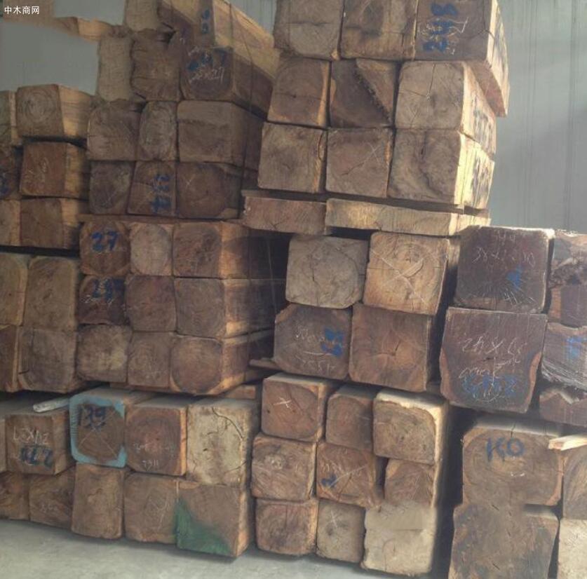 求购:巴里黄檀原木做沙发料