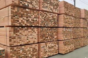 花旗松建筑木方厂家直销自有物流体系