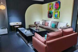 库斯家具科技布沙发高清图片