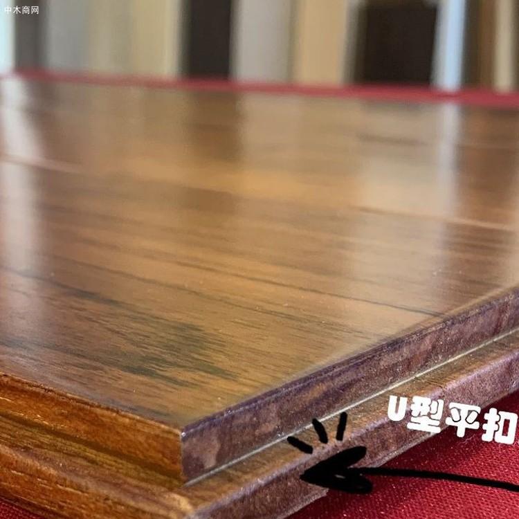 A级柚木地板进口实木地板(原材工厂直供)防潮耐腐耐磨油性地板图片