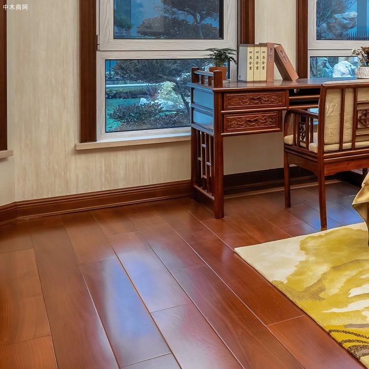 A级柚木地板进口实木地板(原材工厂直供)防潮耐腐耐磨油性地板品牌