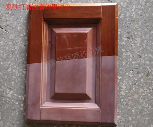 实木家具门板喷砂打磨机,底漆喷砂喷砂打磨机