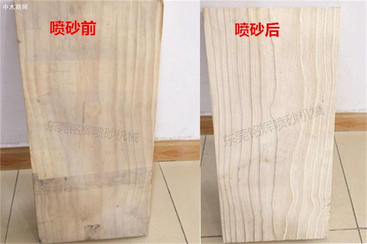 喷砂机在木材家具行业的应用