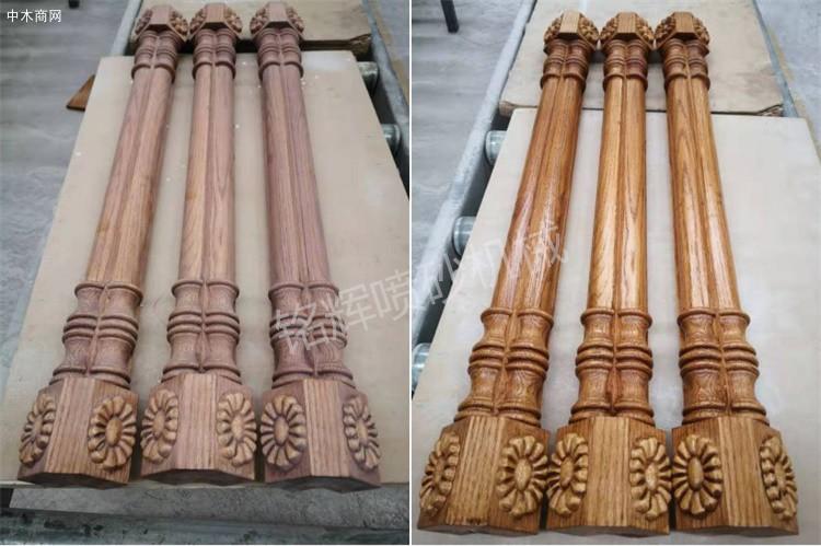 喷砂机在木材家具行业的应用厂家