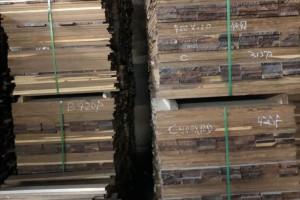 南美实木地板坯料进口数量明显减少