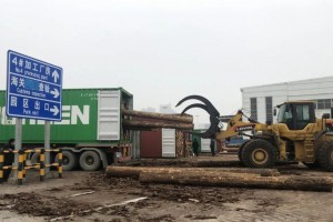 武汉首家进口木材保税加工入驻阳逻港园区