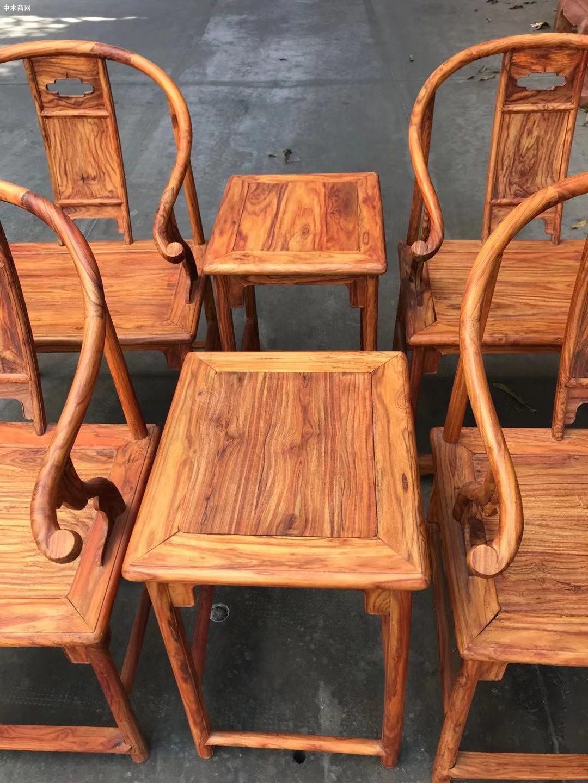海南黄花梨安思远椅子高清图片欣赏