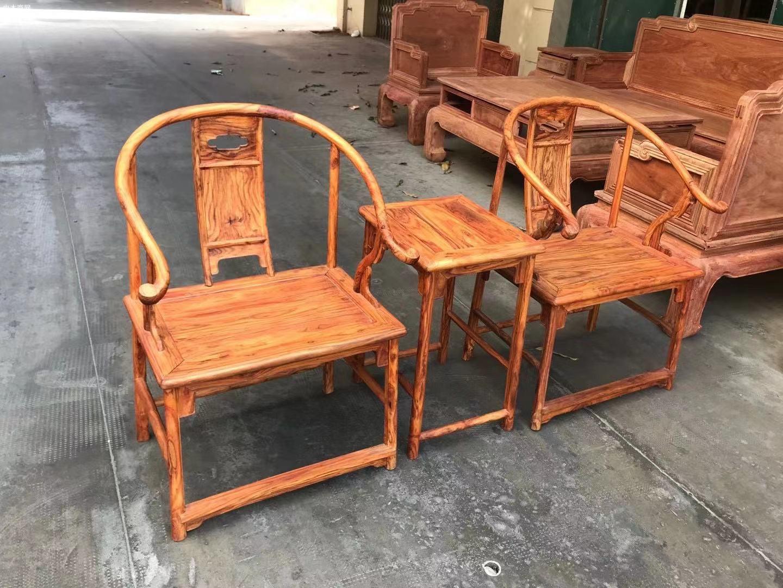 海南黄花梨安思远椅子高清图片价格