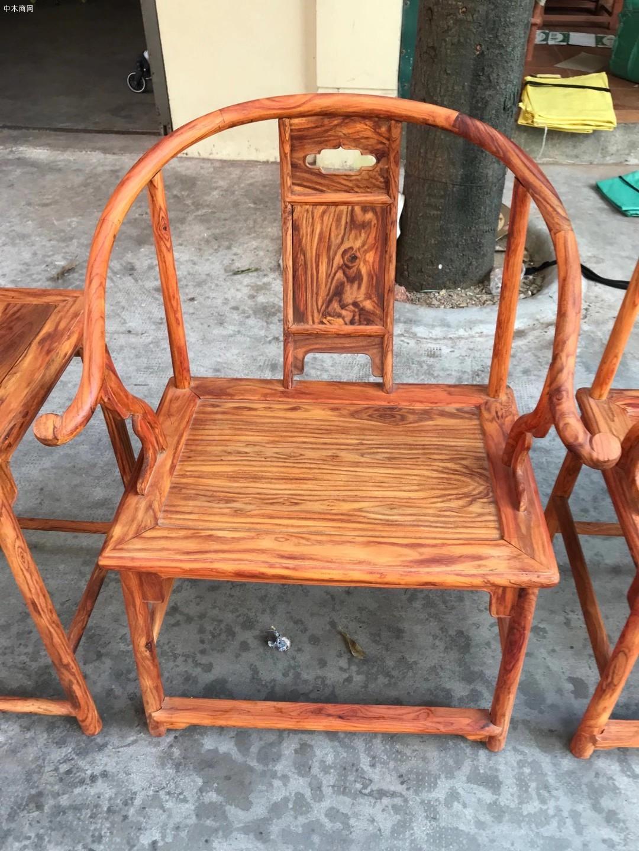 海南黄花梨安思远椅子高清图片供应商