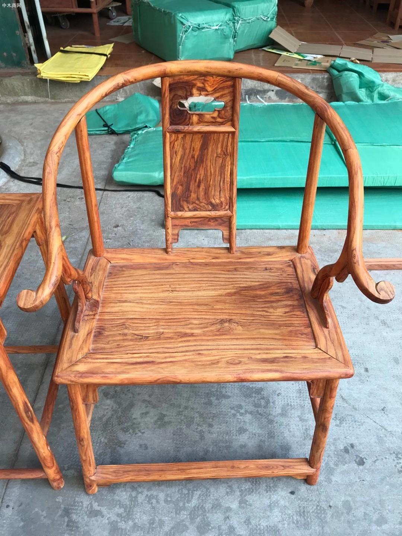 海南黄花梨安思远椅子高清图片供应