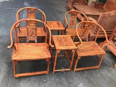 海南黄花梨安思远椅子多少钱一套?