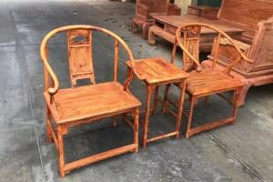 海南黄花梨安思远椅子高清图片