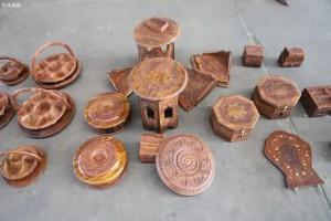 天津市海关查获濒危木材制品
