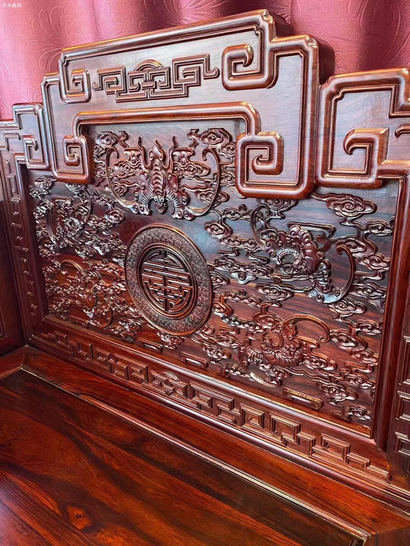 顶级花枝宝座沙发113七件套高清图片品牌
