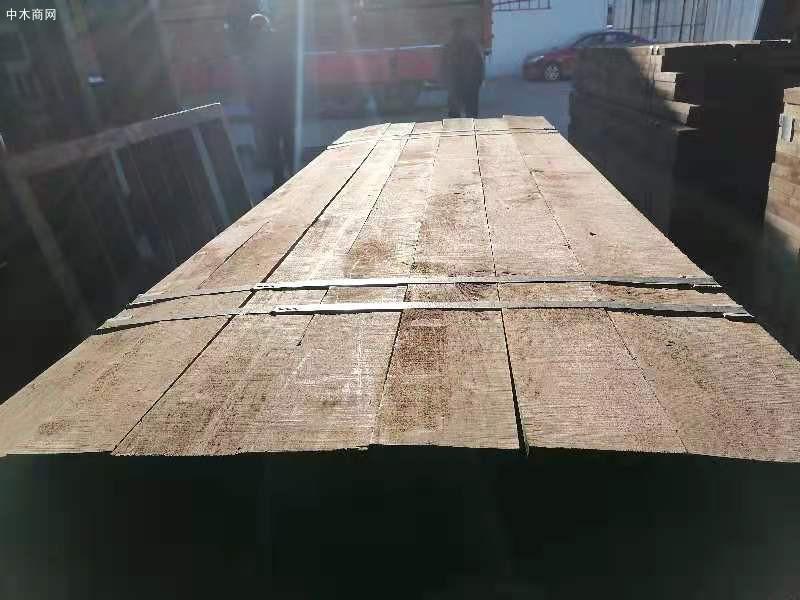 天津山姆木业美国进口黑胡桃木板材仓库高清视频厂家