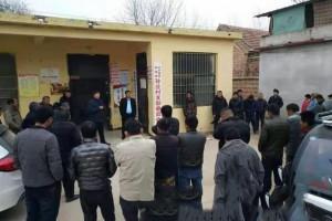 曹县韩集镇开展木材加工户专项清理整治行动
