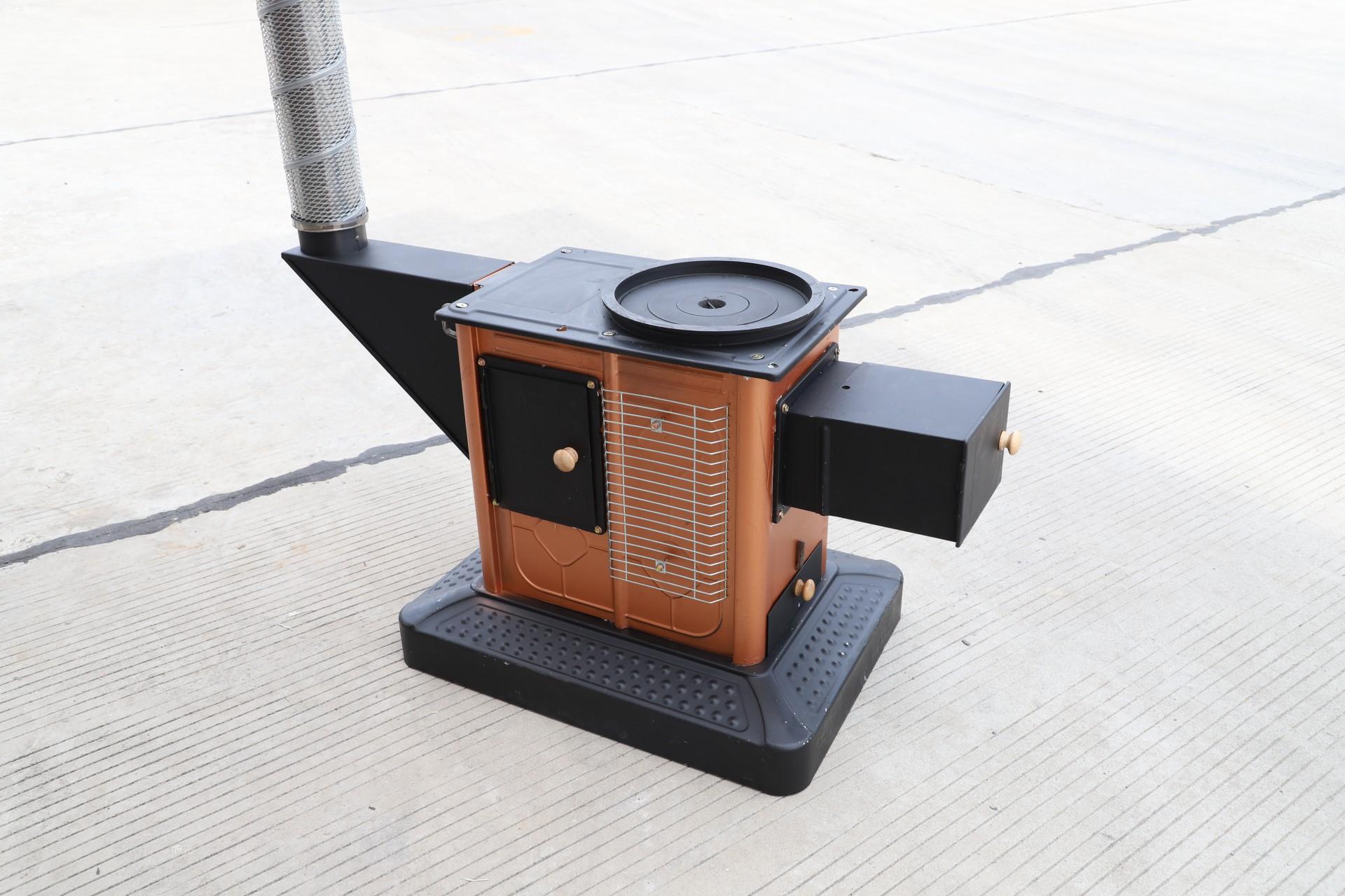 柴煤烤火炉两用回风炉内部结构图图片