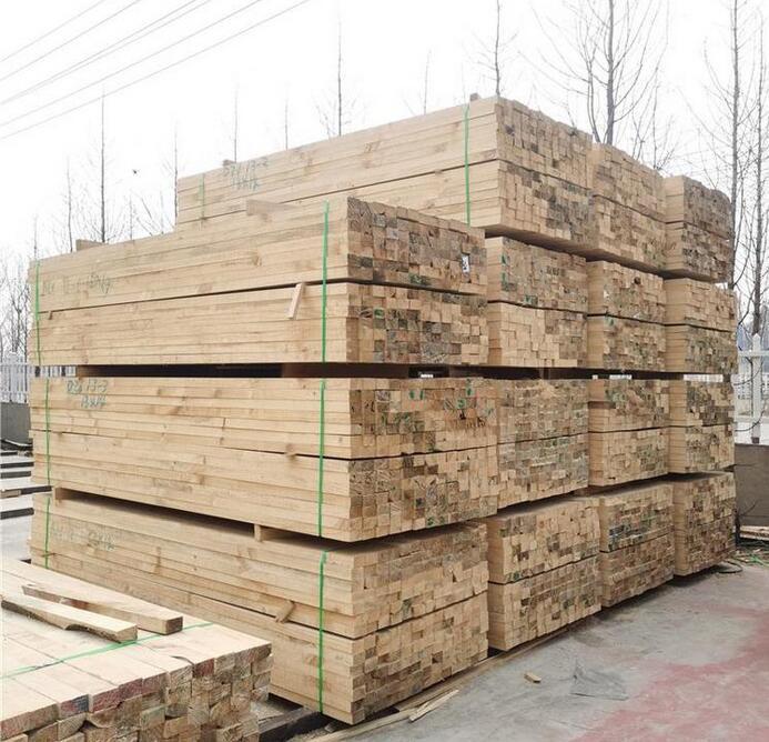江苏香杉木龙骨,建筑木方生产厂家图片