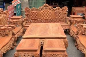缅甸花梨木沙发10件套价格看点?