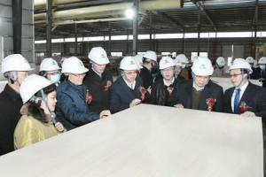 我国首条自动化胶合板生产线在广西百色竣工投产