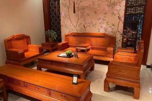 缅甸花梨家具多少钱一套?
