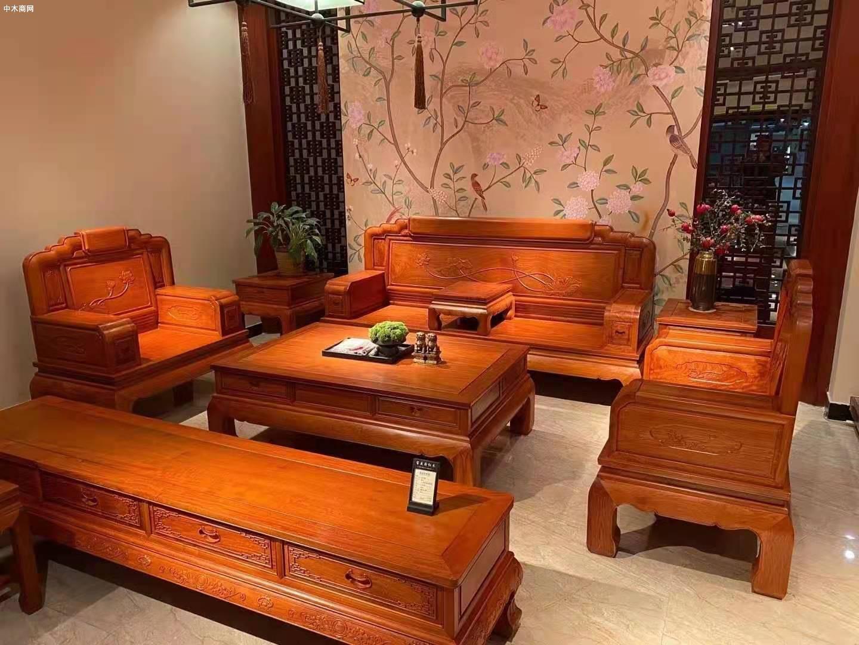 缅甸花梨家具多少钱一套