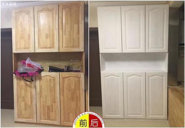 天津实木家具修复图片