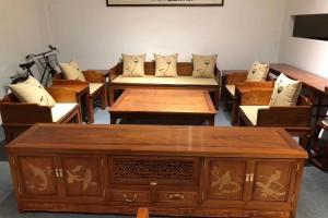 缅甸花梨木沙发价格是多少?