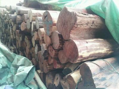 大红酸枝原木批发价格