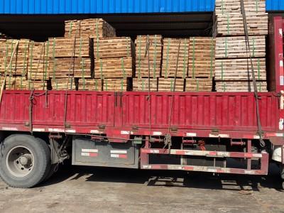 大量非洲柚木加工材薄板一首源头供应