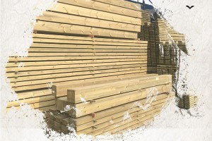 致禾芬兰木深度防腐木实木户外地板庭院平台板材赤松木方立柱现货