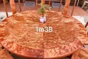 缅花火焰纹1.38圆台高清视频