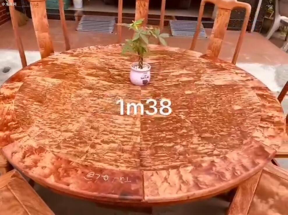 缅花火焰纹1.38圆台高清视频厂家