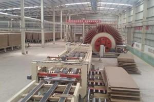 2020年全国建成投产16条刨花板生产线
