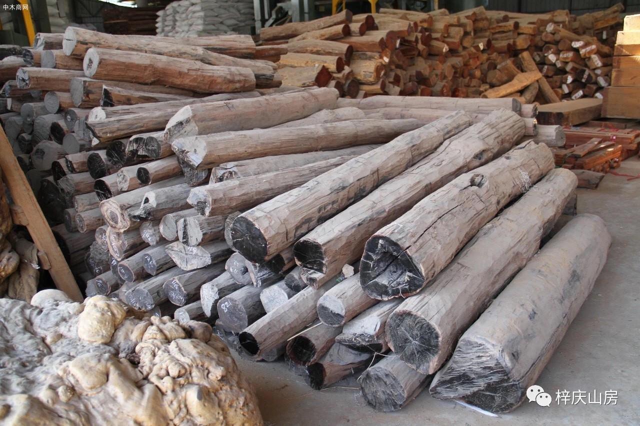 印度和缅甸出产的乌木